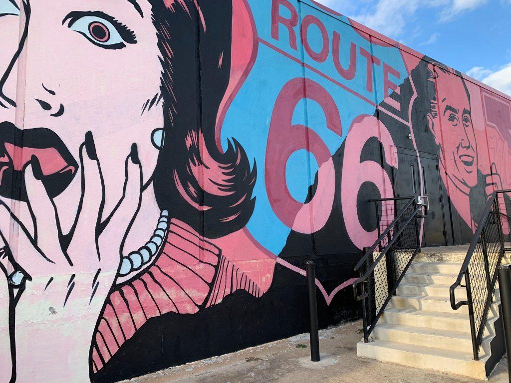 Mural Behind 10 W Main