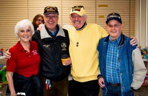 Yukon Veteran's Museum Guys at Community Coffee