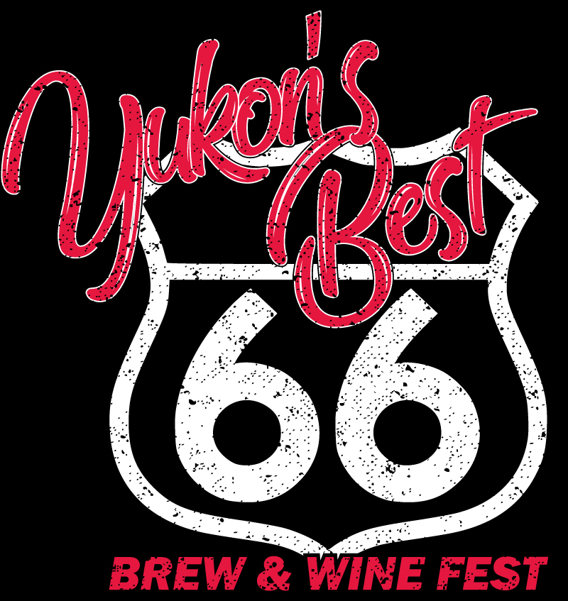 yukon route 66 wine and brew fest logo